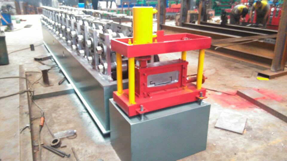 galvanized steel door frame cold roll forming machine