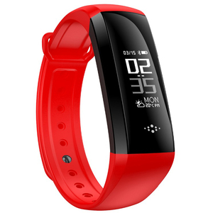 OLED Touchscreen smart watch bracelet bluetooth 4.0 blood pressure heart rate monitor wrist smart band with SDK