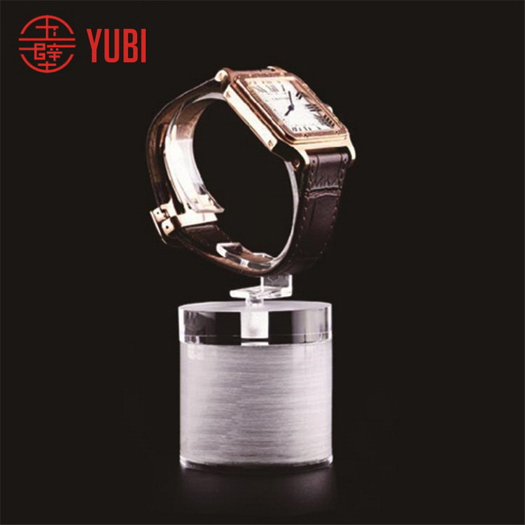 Super quality professional acrylic single watch strap display