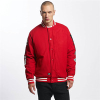 Custom Mens Plain Sports Varsity Jacket Cotton Material Jacket Wholesale