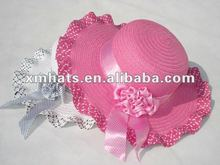 cheap promotional summer straw hat xm1002
