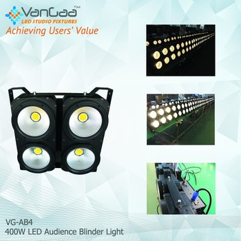 new design 4 Eye 4*100W audience blinder