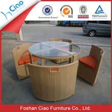 All Weather plastic rattan bamboo look outdoor furniture