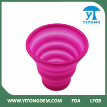 silicone Red rubber drinking cup sleeve /hot sale heat resistance silicone cup