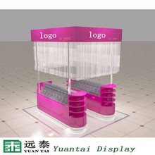 China showcase display for dessert shops interior design ideas