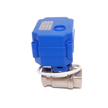 mini 2 way stainless Steel 304 servo control valve for water equipment DN15 DN20 DN25 DN32 for
