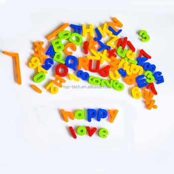 Hot sale early learning plastic kids cheap magnetic letters and numbers
