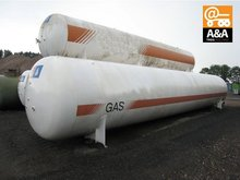 Various used tanks for LPG / GPL / Propane / Liquefied Petroleum Gas Tank
