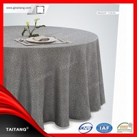 2015 new series Hot Sale luxury satin table cover tablecloth weights