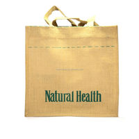 Wholesale Tote Shopping Jute Bag Promotional Jute Gunny Bags