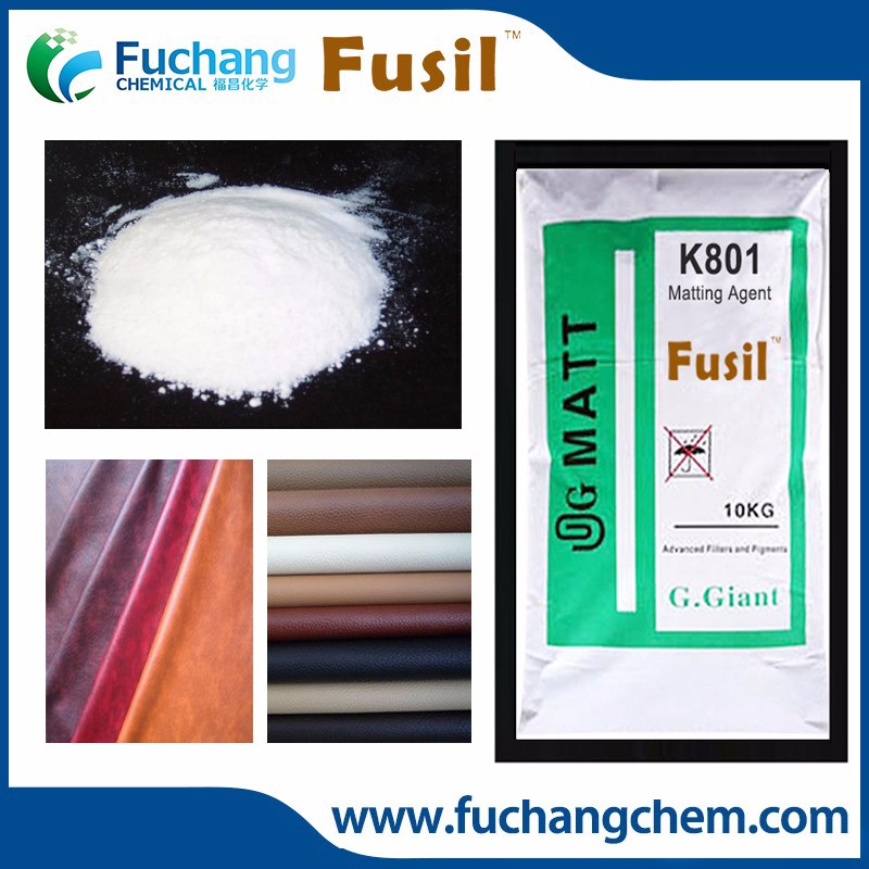 White powder Good Transparency SiO2 Silica matting agent msds
