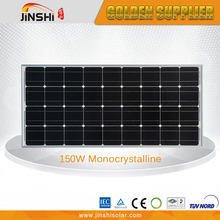 Factory Direct Sale New Design 150W 12V Solar Panel Monocrystalline