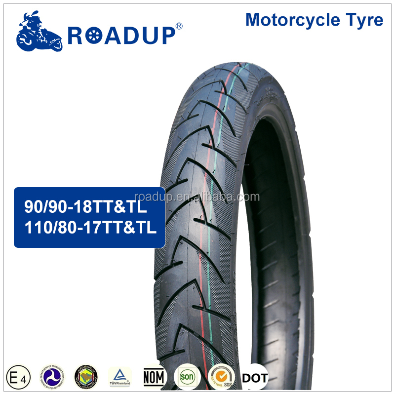 18 inch motorcycle tire 90/90-18 90 90/18 6 ply rate made in china