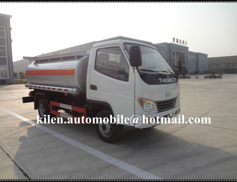 Hubei Runli Special Automobile T-king 2 ton fuel truck for sale