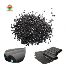 Coloring evenly polyethylene raw material hdpe recycle carbon black master batch for blowing film manufacturer