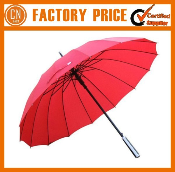 210 T Golf Umbrella Rubber Handle Umbrella