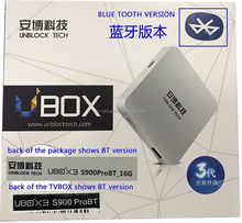Hot Ubox3 Bluetooth TV BOX Octa Core Android 4K TV Box Support Free Live Streaming Channels Free Japan/India Other TV Channel