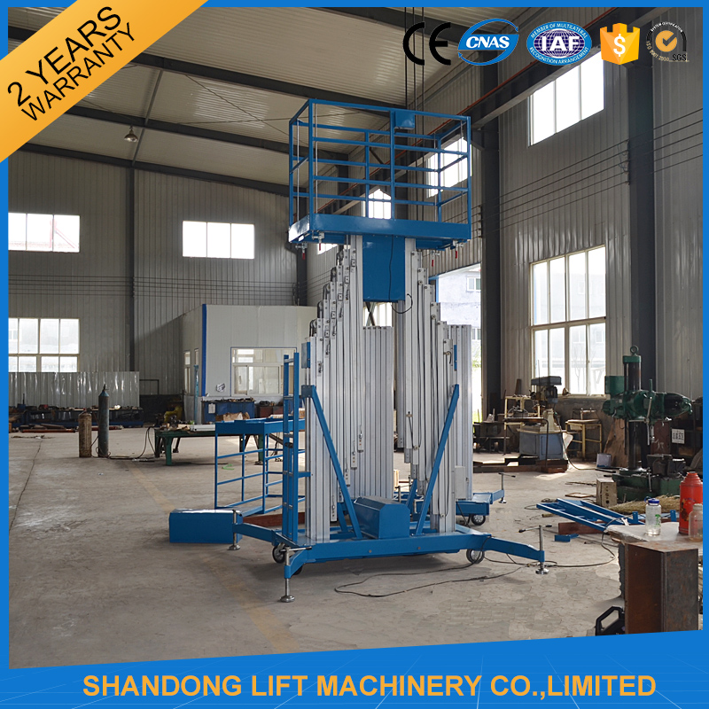 new design custom made manual man lift for sale