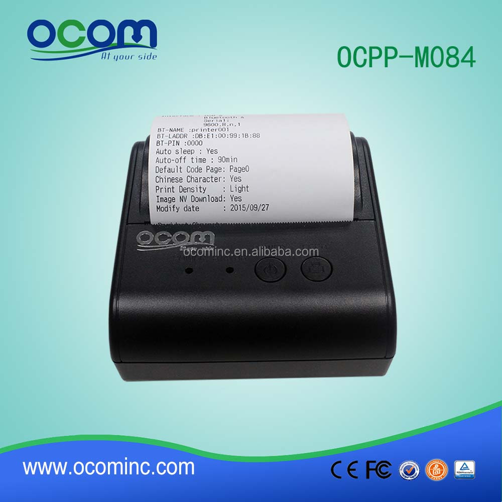 OCPP- M084 Factory supply 80mm handheld receipt printer bluetooth with android and IOS SDK