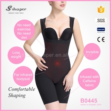 S-SHAPER Slimming Full Body Shaper Suit,Seamless Shapewear,Sleeveless Caffeine Infused Bodysuit