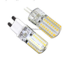 dimmable 3w 4w 10-30V DC mini corn G9 / G4 led bulb with CE ROHS, led corn light e27 g9