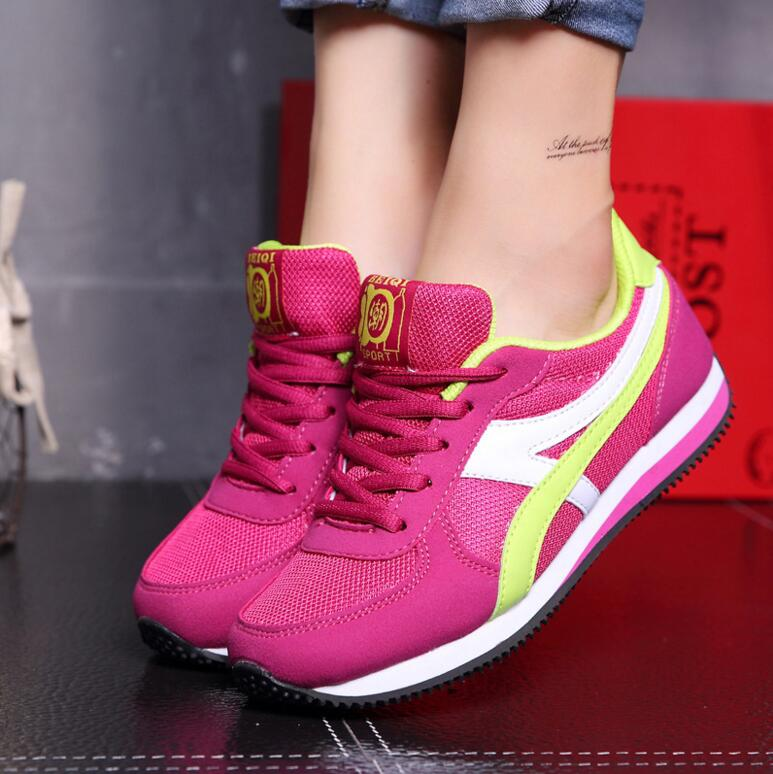 Wholesale best quality big size women shoes soft sole comfortable womens running shoes