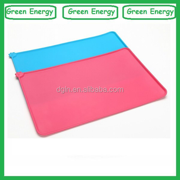 Wholesale rubber dog feeding silicone pet mat ,pet cool mat