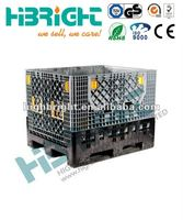 large capacity plastic collapsible crates
