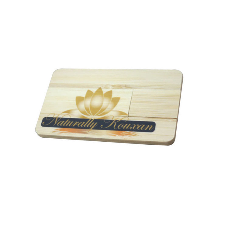 business wooden card usb flash drive wood usb card flash memory stick