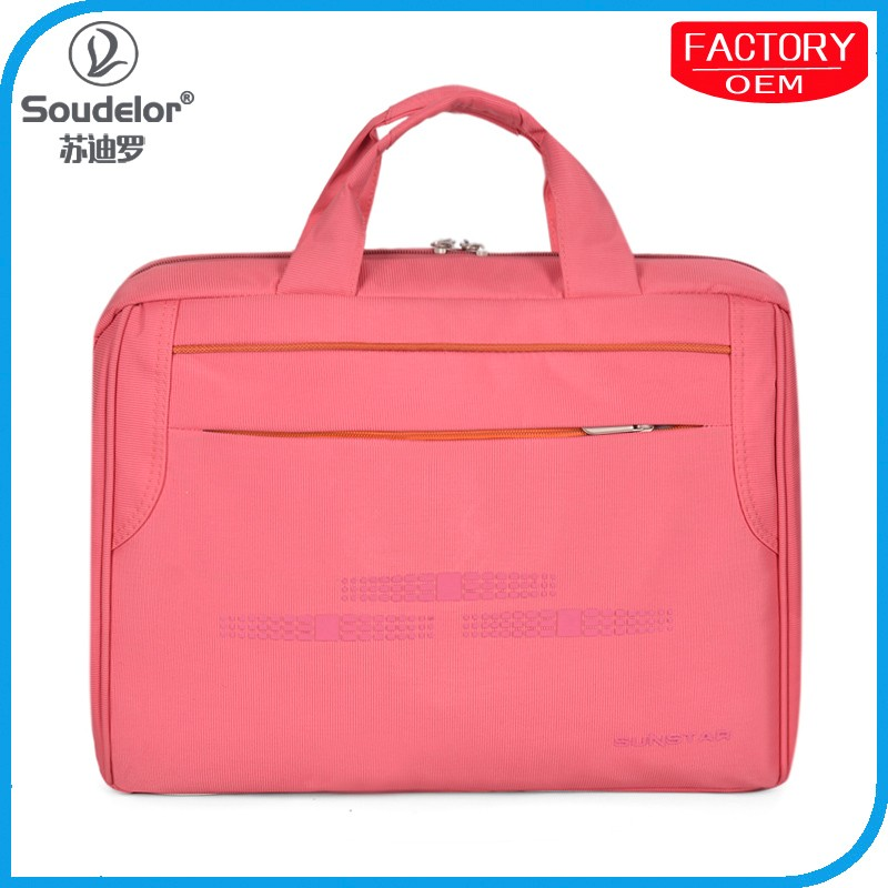 Wholesale laptop bags brifcase Nylon waterproof fashion oem bag