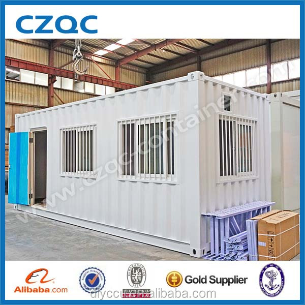 20ft container house and office for German with low cost and high quality
