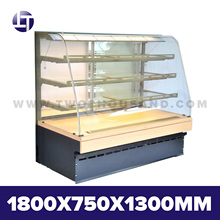 TT-MD23C Four Shelves Front Access Refrigerated Cupcake Display Case