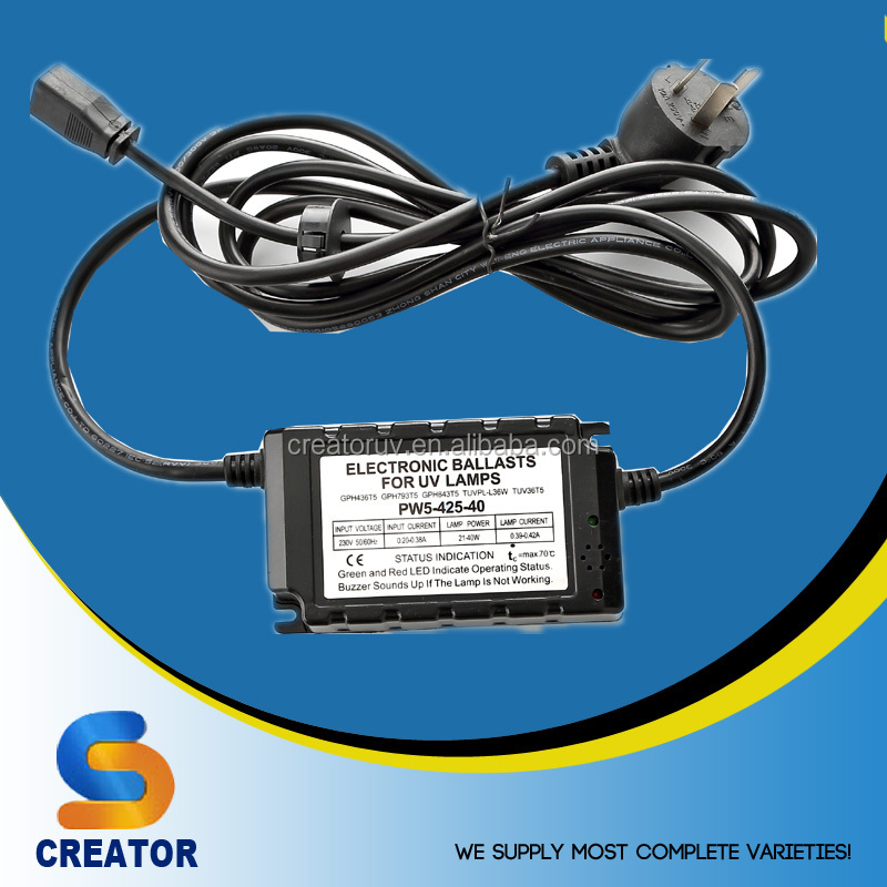 Creator PW5 series input28-48W 21-35 65W Economic Electronic Ballast for UV germicidal lamp