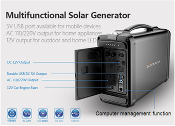 Household Solar Generator 500W Portable