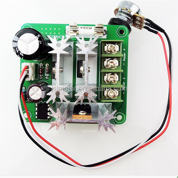 DC 6V-90V 10A DC Motor Controller stepless speed regulation pwm motor speed