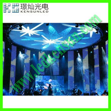 Energy saving full color HD LED video display screen hospital supplier