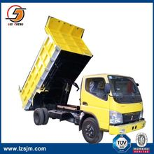 15ton rated capacity dump truck galvanized tipper body