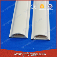 PVC wire duct 35x10 arc floor trunking Factory