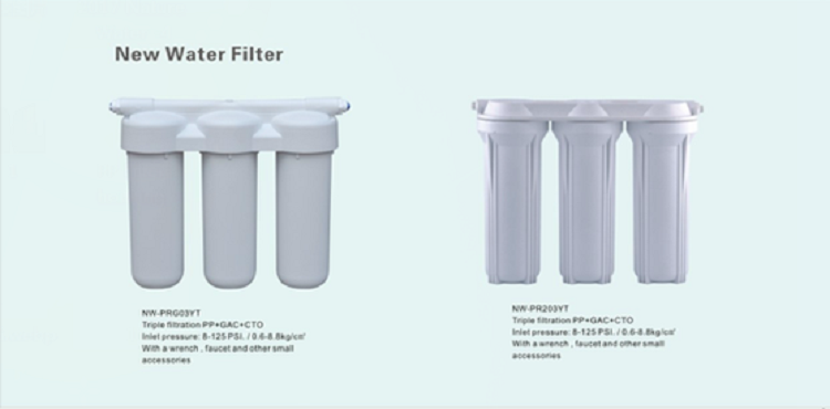 10 inch blue water filter housing