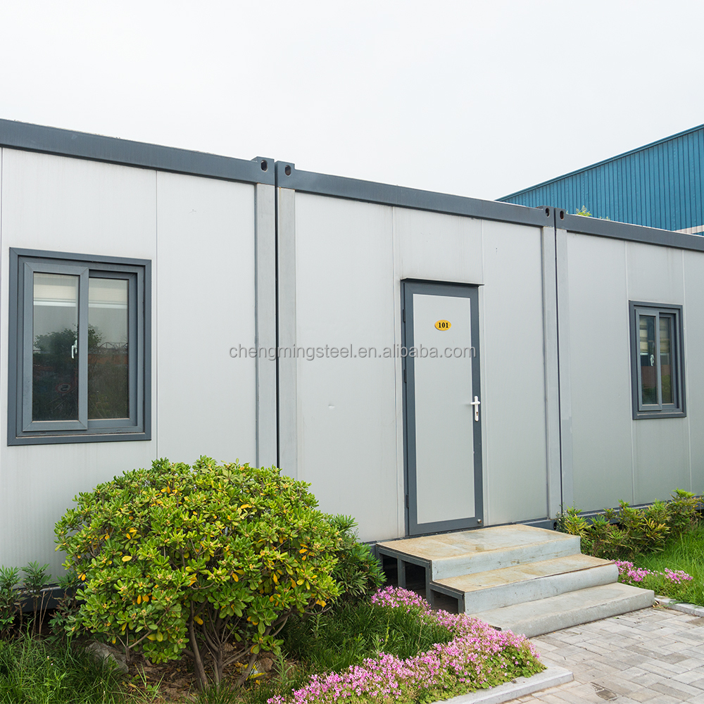 Good Mechanical Modified Raintight Pakistan Sandwich Panel 20Ft Container Living House