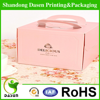 Custom Eco-Friendly Wholesale Recycled Take Away Cheap Paper Cake Box