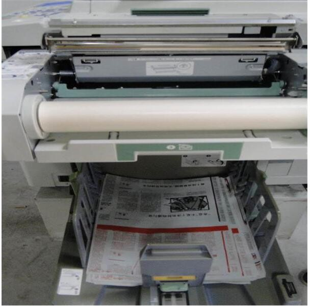 Second hand Risos digital duplicator machine for RZ370 copy printer