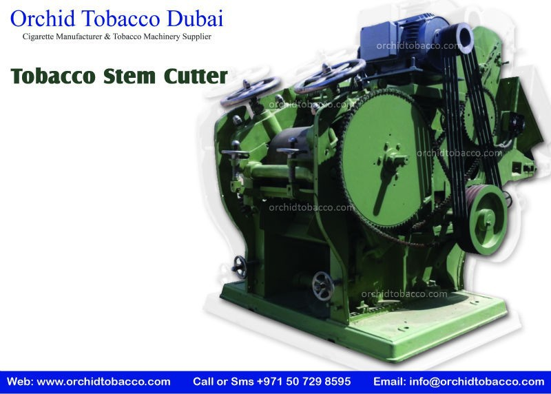 Tobacco Machinery: Tobacco Stem Cutting Machine