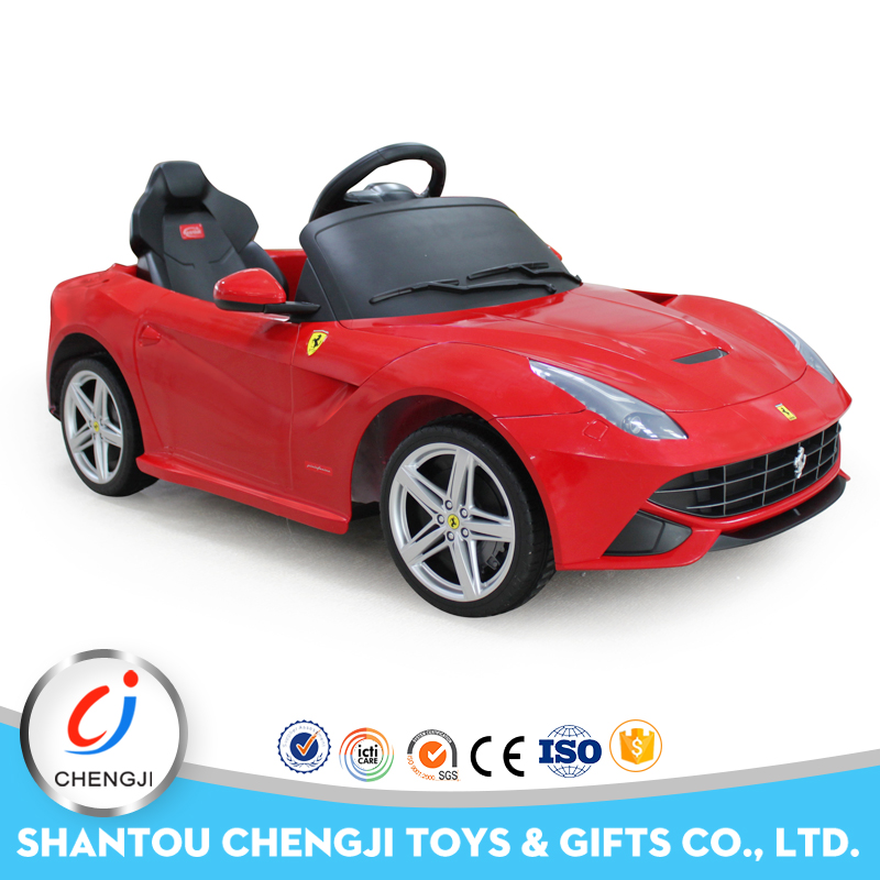 Newest design funny remote control kids ride on car import