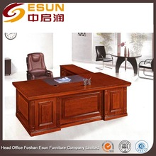 Executive Wooden Office Desk furniture Standard Office table Dimensions