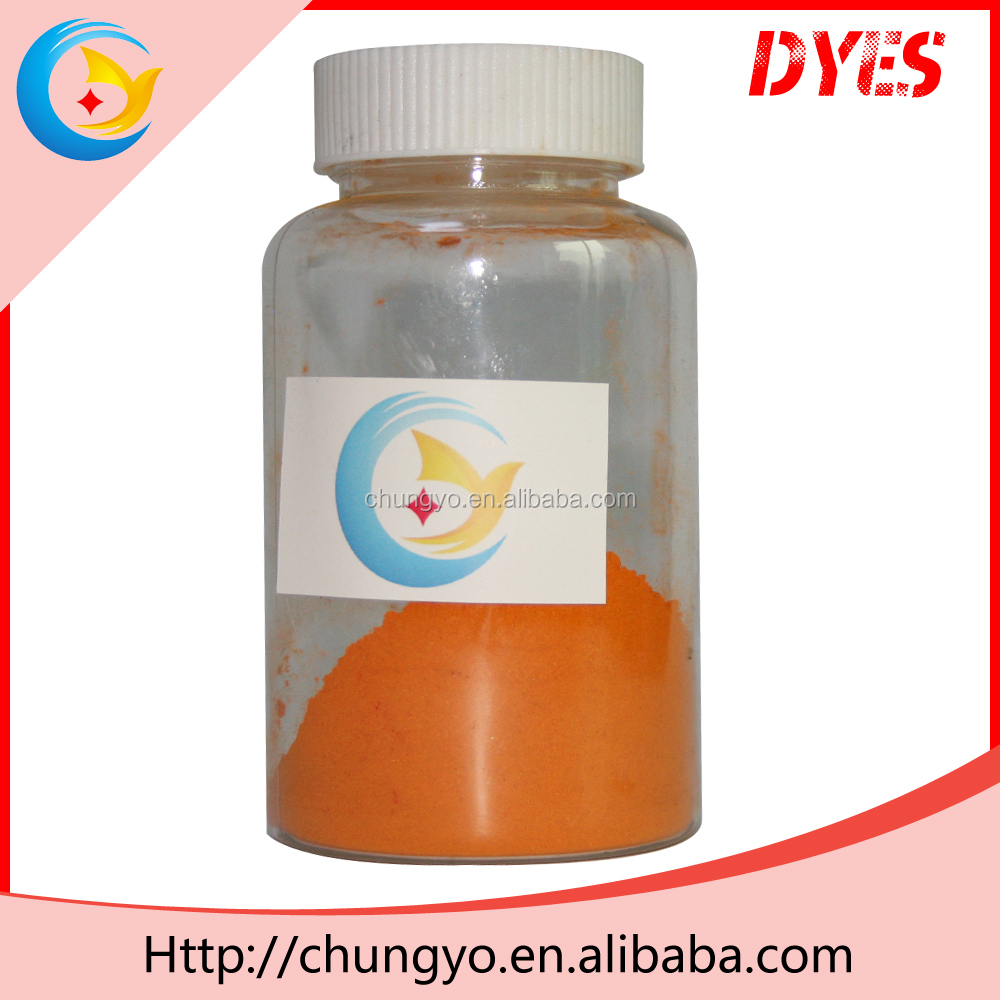 Chemicals Disperse Orange E-RL permanent fabric dye organic powder dye