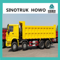 2015 New SINOTRUCK HOWO 336hp 12-wheel dump truck