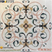 Royal Palace Style Marble Inlay Wall To Wall Design Lobby And Residential Luxury Marble Floors