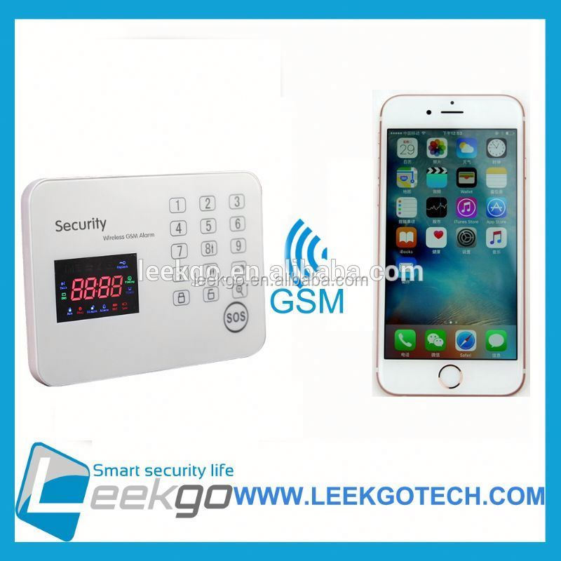 Factory Price 2015 home security wireless gsm alarm system