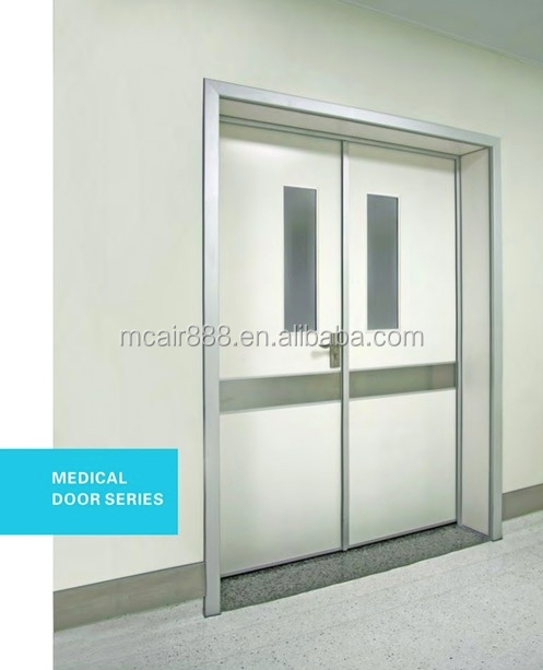 hospital clean room door for hospital air tight door hospital door